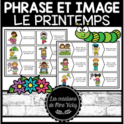Association phrase et image - Printemps
