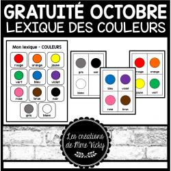 Gratuité - Lexique des couleurs