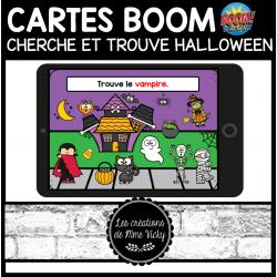 BOOM - Cherche et trouve - Halloween