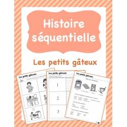 Histoire séquentielle - Les petits gâteaux
