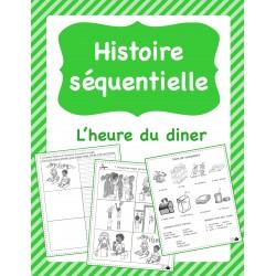 Histoire séquentielle - L'heure du diner