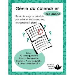 Génie du calendrier