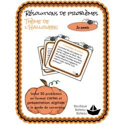 30 Résolutions de problèmes 2ème année - Halloween