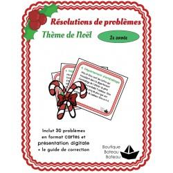 30 Résolutions de problèmes 2ème année - Noel