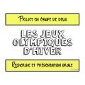 Projet sur les Jeux Olympiques d'hiver