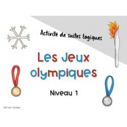 Suites logiques des Jeux Olympiques - niveau 1