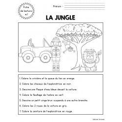 Fiche de lecture 7 - la jungle
