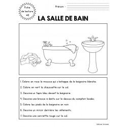 Fiche de lecture 8 - la salle de bain