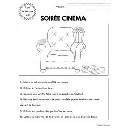 Fiche de lecture 10 - soirée cinéma