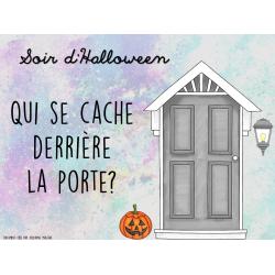 Halloween - Qui se cache derrière la porte?