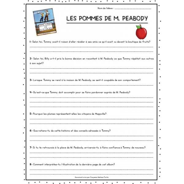 Éthique - Les pommes de M. Peabody