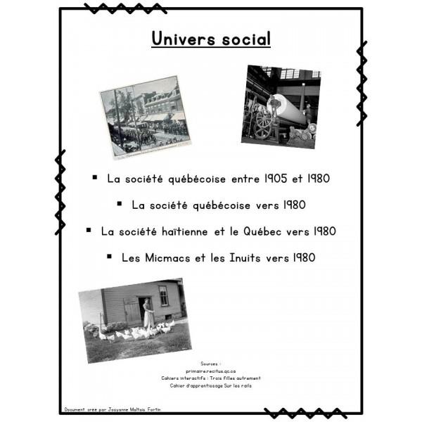 Ensemble - Univers social (6ème année)