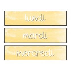 Étiquettes d'organisation pour la classe