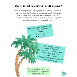 Communication orale - voyage