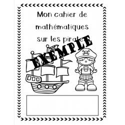 Cahier mathématiques - pirate