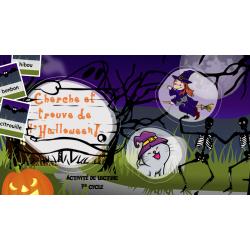 Cherche et trouve de l'Halloween