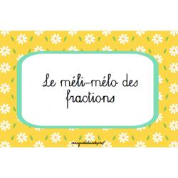 Le méli-mélo des fractions