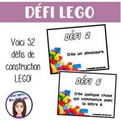 STEM: Carte à tâches LEGO