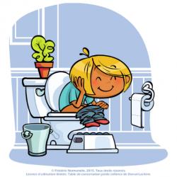 Routine des toilettes