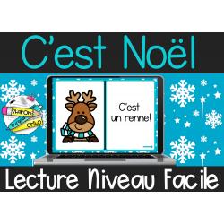 Lecture Noël | Cartes Boom