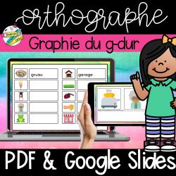 Orthographe G Dur Google et PDF