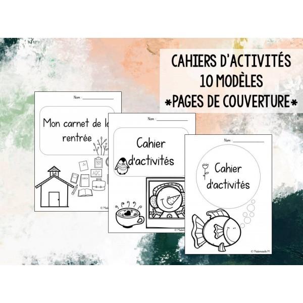 Cahier d'activités - pages de couverture