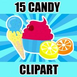 30 CANDY CLIP ART