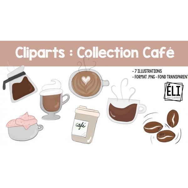 Cliparts : Collection Café