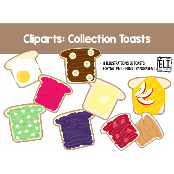 Cliparts: Collection Toats