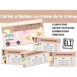 Cartes à tâches: La crème de la crème