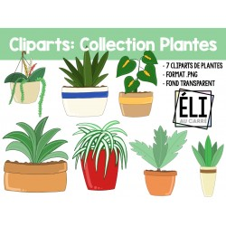 Cliparts: Collection plantes