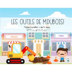 Les outils de M. Dubois