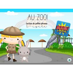 Boom cards Au zoo!