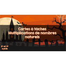 CAT multiplications de nombres naturels