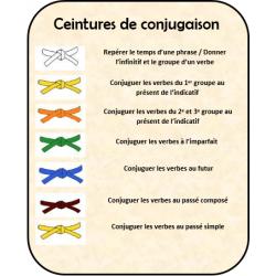 ceintures de compétence (conjugaison)
