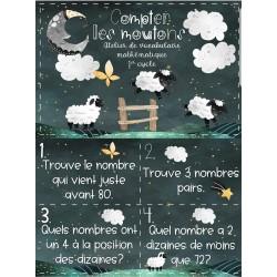 """Atelier de maths: """"Compter les moutons"""""""