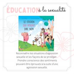 Éducation à la sexualité - 1re année