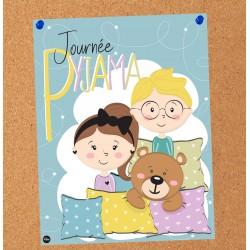 Affiche Journée pyjama
