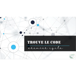 Trouve le code - premier cycle