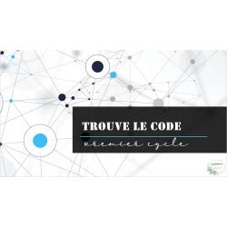 Trouve le code - premier cycle