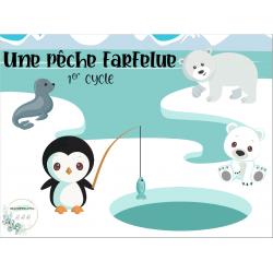 Jeu interactif animaux polaires - in, an, un