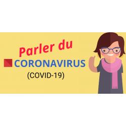 Parler du coronavirus - Vocabulaire en français