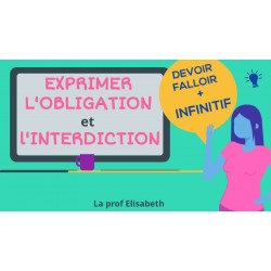 L'obligation et l'interdiction - FLE