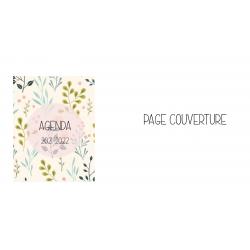Planificateur feuillage et fleurs (5 périodes)