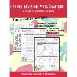 Grande Révision Mathématique - 3e année
