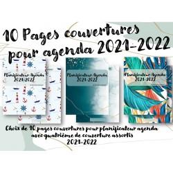 Pages couvertures pour Agenda