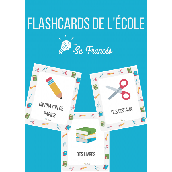 Flashcards - Affichage de l'école