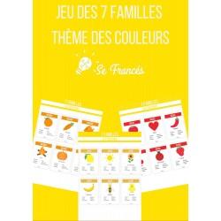 Jeu des 7 familles - Les couleurs