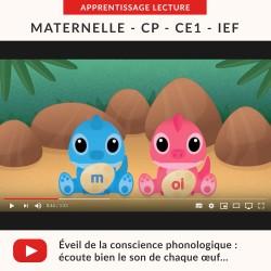 Vidéos Syllabes : former et lire des syllabes