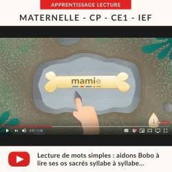 Vidéos Mots Simples : lecture syllabe à syllabe
